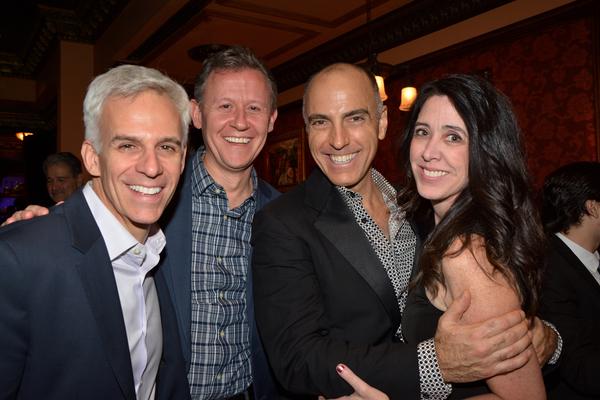 Neal Mayer, David Mayer, William Michals and Rene Atchison Photo