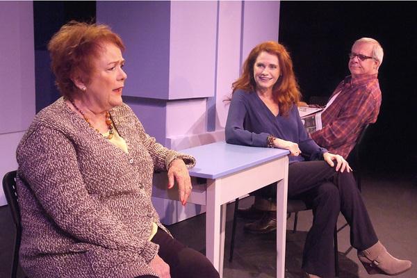 Pamela Dunlap, Sharon Sharth, Bob Telford