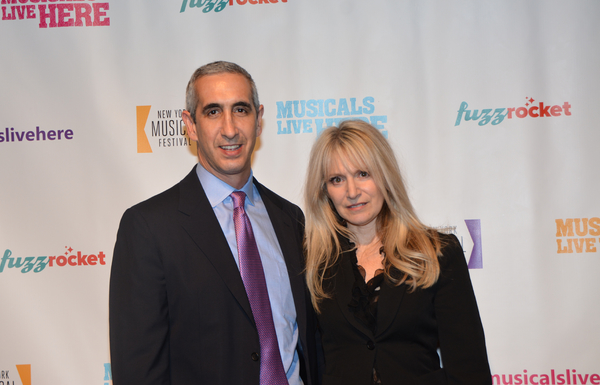Eric Luftig and Jill Jaysen