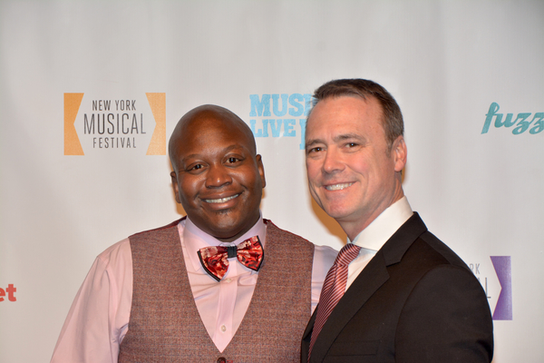Tituss Burgess and Dan Markley