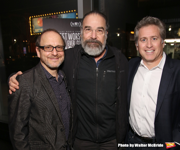 Lonny Price, Mandy Patinkin and Bruce David Klein