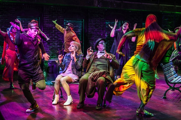 Photo Flash: There's Nothing Better Than This- First Look at Sutton Foster & Company in SWEET CHARITY!