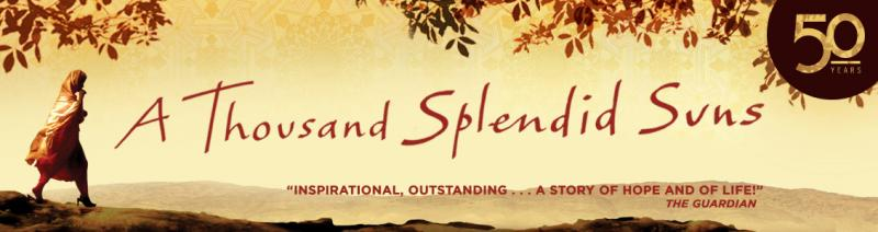 World-Premiere Stage Adaptation of Khaled Hosseini's A THOUSAND SPLENDID SUNS to Hit A.C.T.