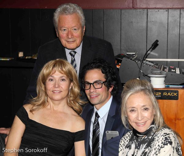 Elizabeth Aspenlieder, Stephen Sorokoff, David Joseph, Eda Sorokoff Photo