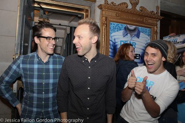 Steven Levenson, Justin Paul and Benj Pasek