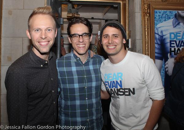 Justin Paul, Steven Levenson and Benj Pasek