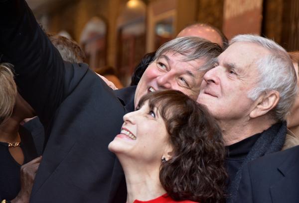Jim Borstelmann, Bebe Neuwirth and John Kander
