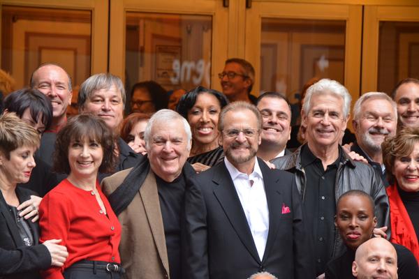 Bebe Neuwirth, John Kander, Barry Weissler, James Naughton and of Chicago