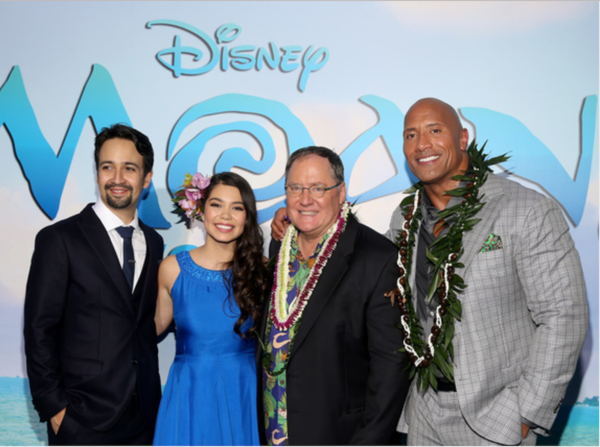 Walt Disney's MOANA World Premiere