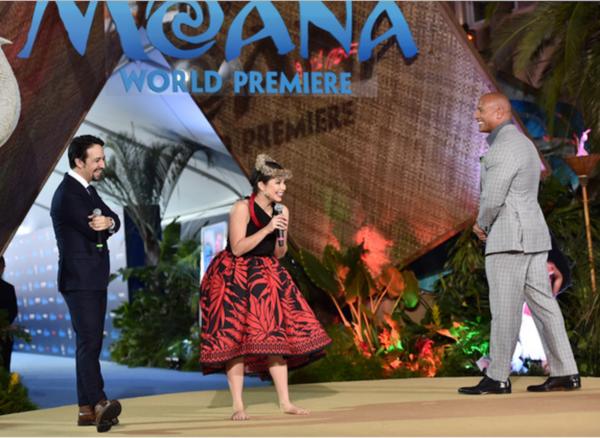 Walt Disney's MOANA World Premiere