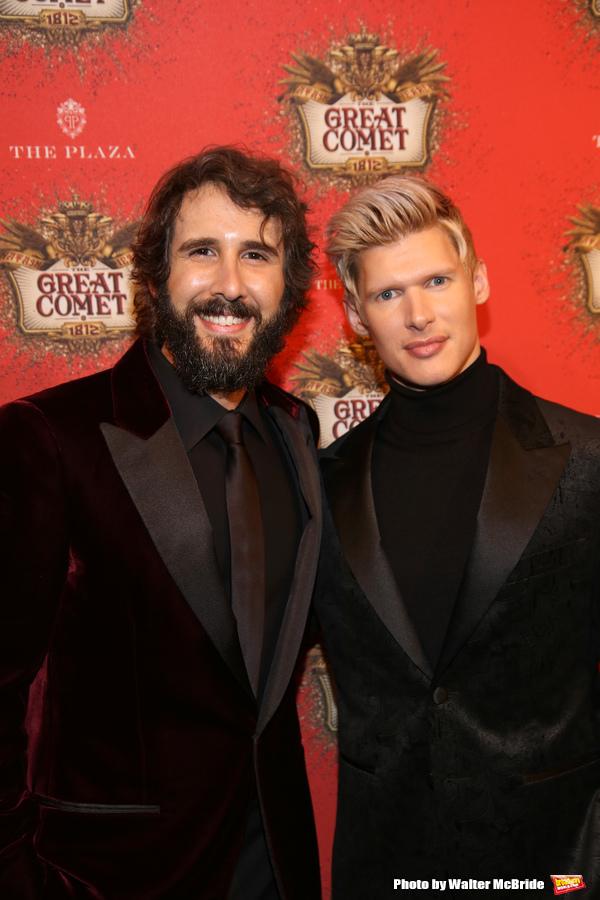 Josh Groban and Lucas Steele
