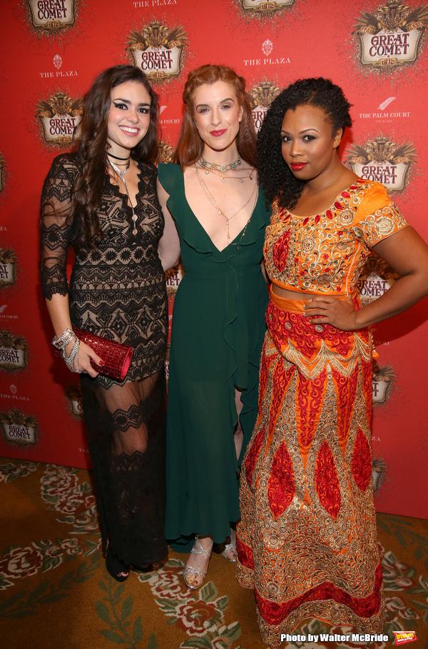 Ashley Perez Flanagan, Courtney Bassett and Sumayya Ali  Photo