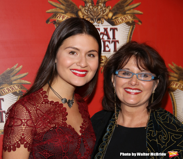 Phillipa Soo and her mother