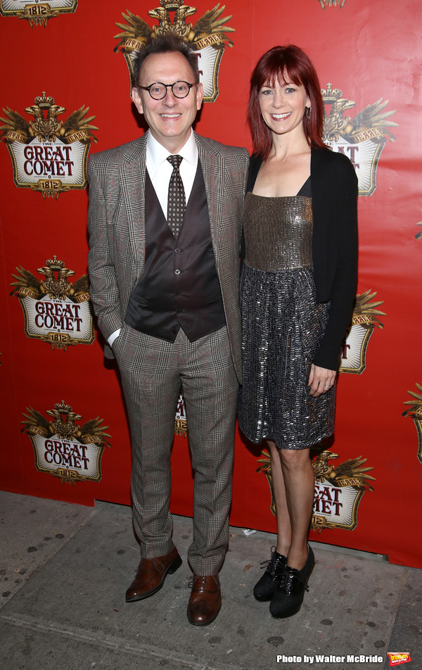 Michael Emerson and Carrie Preston Photo