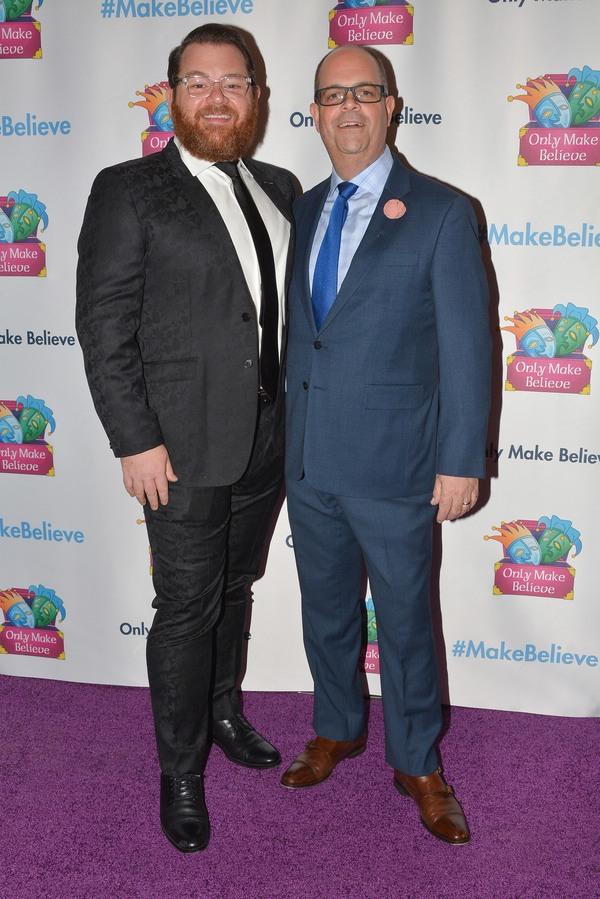 Diego Prieto and Brad Oscar