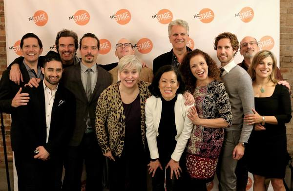 Photo Flash: CURVY WIDOW: THE MUSICAL, Starring Nancy Opel, Celebrates Opening Night at NC Stage