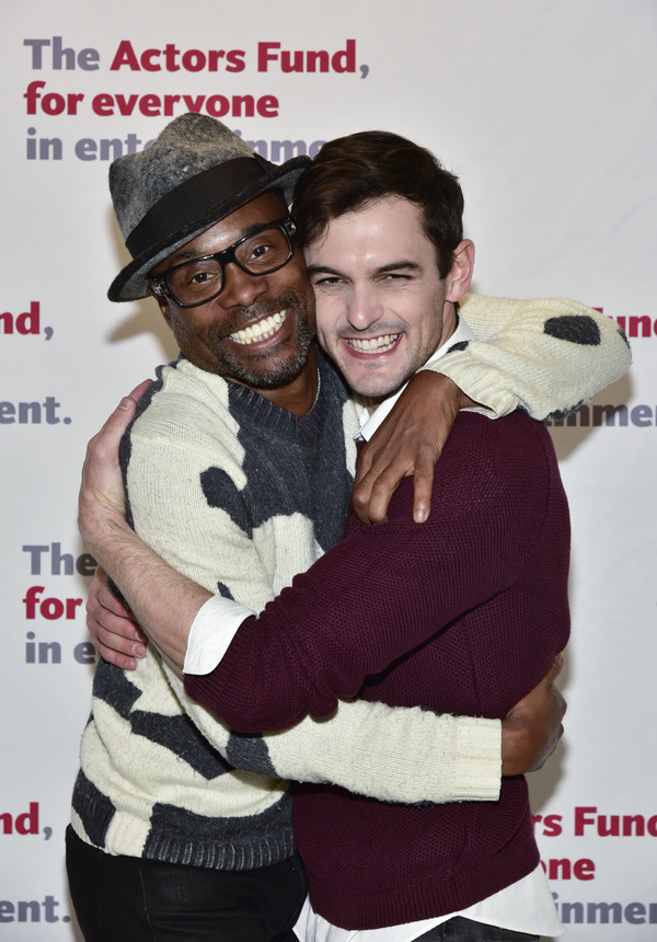 Billy Porter and Wesley Taylor