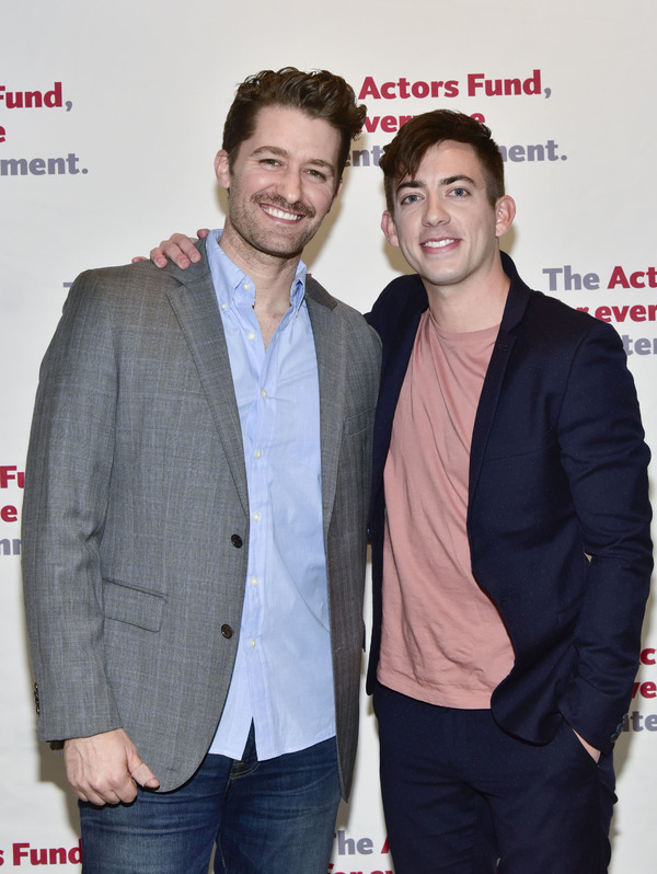 Matthew Morrison and Kevin McHale  Photo