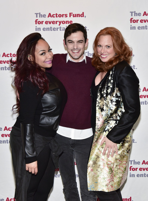 Raven Symone, Wesley Taylor and  Carolee Carmello