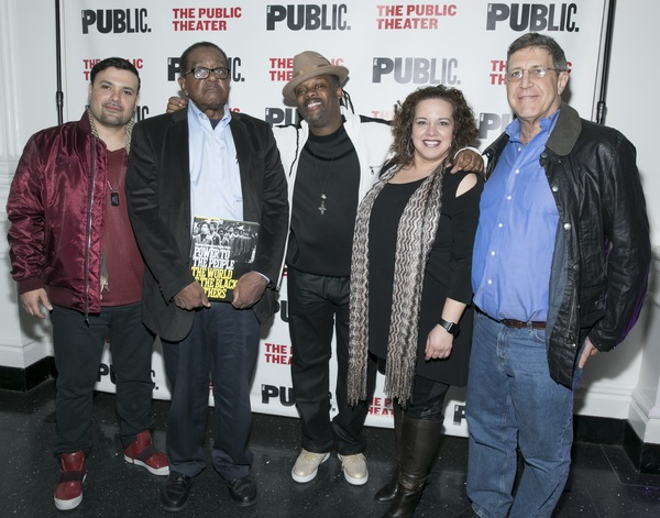 Photo Flash: Inside Opening Night of PARTY PEOPLE at the Public Theater