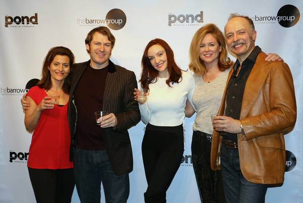 Lily Dorment, Nick Hetherington, Sarah Street, Colleen Clinton and John Pirkis Photo