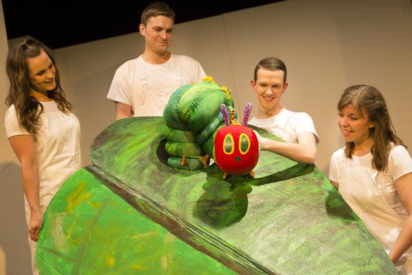 Sarah Hamilton, Andrew Cullimore, Adam Ryan, and Katie Haygarth Photo