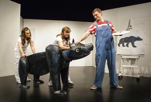 Sarah Hamilton, Katie Haygarth, and Andrew Cullimore Photo