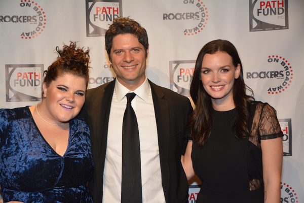 Ryann Redmond, Tom Kitt and Jennifer Damiano