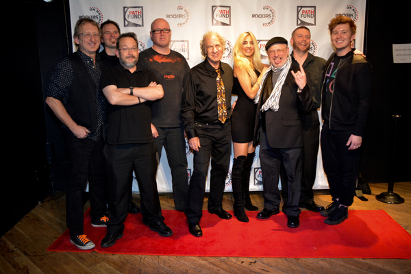 The Band-John Putnam, Nate Brown, Steve Snider, Kevin Dow, Jay Leslie, Susan Aquila, Henry Aronson, Joe Snyder and Maximilan Sangerman