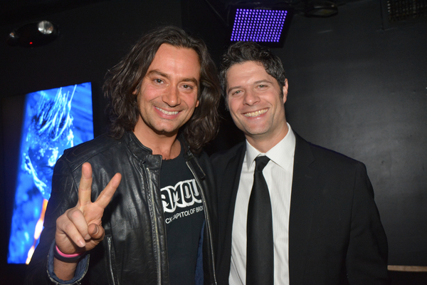 Constantine Maroulis and Tom Kitt
