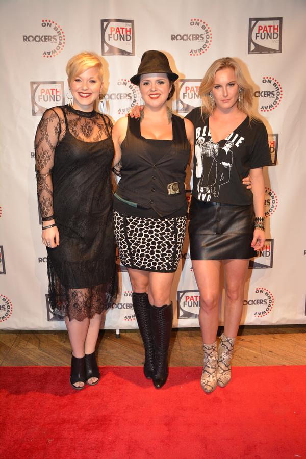 Brook Wood, Amelia Cormack and Ginna Le Vine