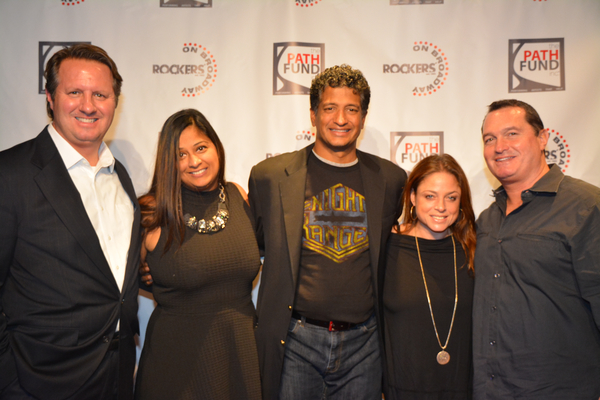 David Cote, Ami Shah, Kamesh Nagarejam, Lisa Perlman and David Kaufman