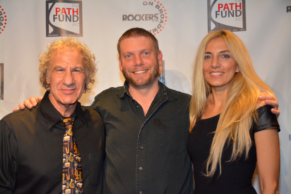Jay Leslie, Joe Snyder and Susan Aquila Photo