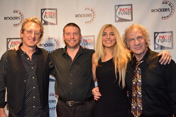 John Putnam, Joe Snyder, Susan Aquila and Jay Leslie Photo