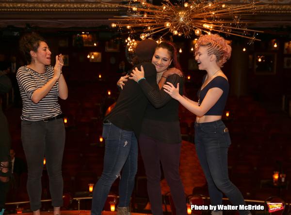 Rachel Chavkin, Erica Dorfler, Katrina Yaukey and Palona Garcia-Lee  Photo