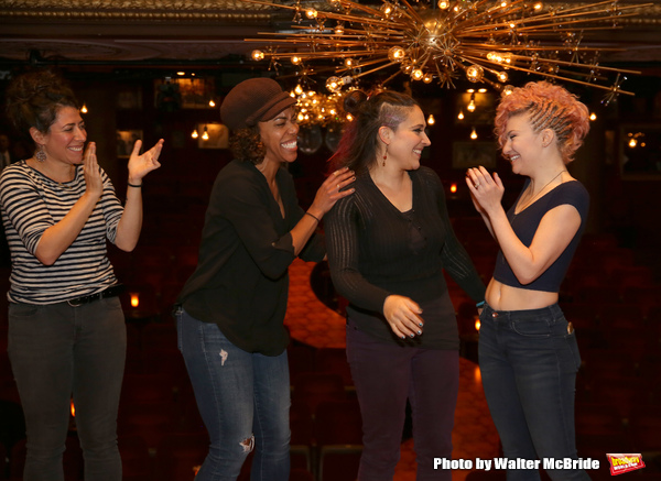 Rachel Chavkin, Erica Dorfler, Katrina Yaukey and Palona Garcia-Lee