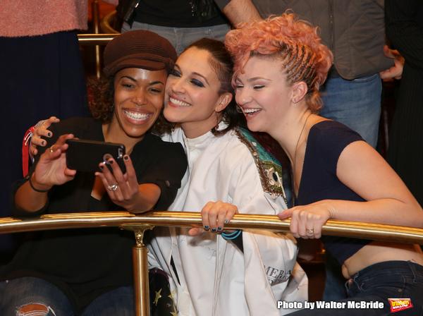Erica Dorfer,  Katrina Yaukey and Paloma Garcia-Lee  Photo