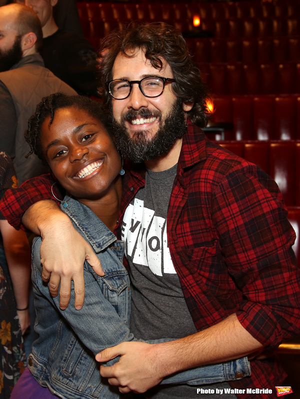 Nick Choksi and Josh Groban
