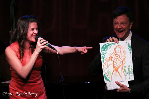 Amy Rivard and Jim Caruso
