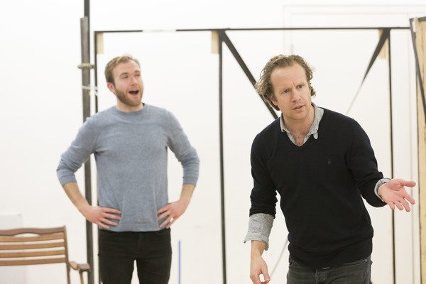 Photo Flash: In Rehearsal for WILD HONEY at Hampstead Theatre