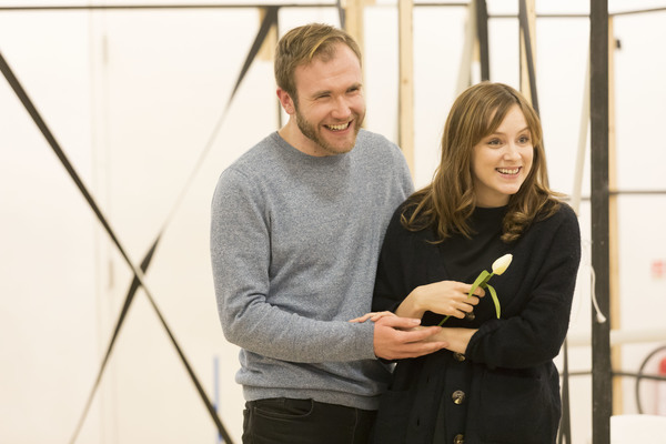 Joe Bannister and Sophie Rundle