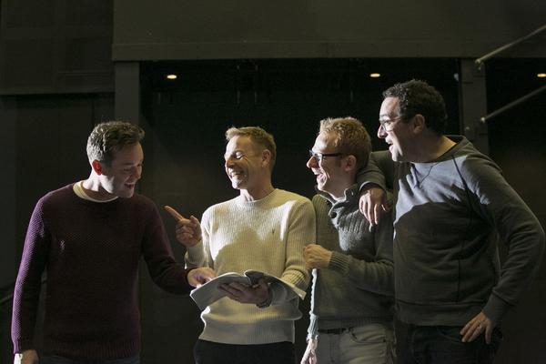 Stephen Mulhern, Paul Hendy, Lloyd Hollett and Ben Roddy Photo