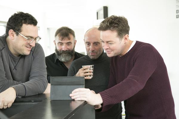 Ben Roddy, Vladimir Georgievsky, John Barr and Stephen Mulhern Photo