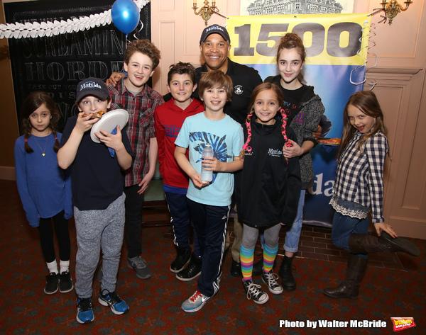 Photo Coverage: MATILDA Celebrates 1500 Performances on Broadway!