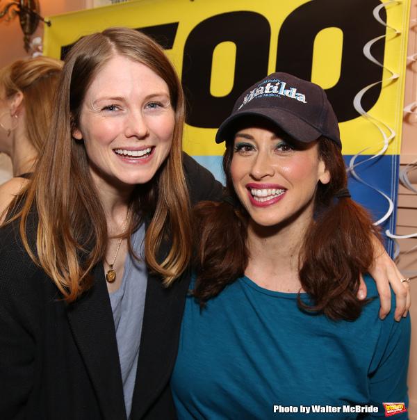 Allison Case and Lesli Margherita  Photo