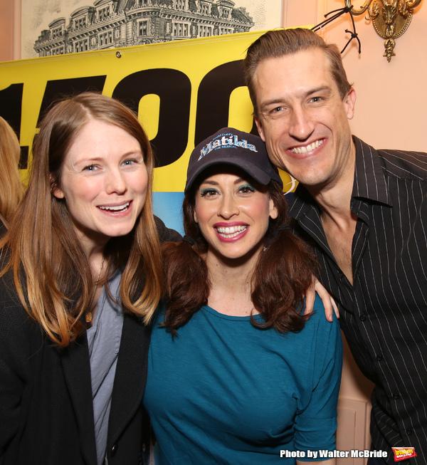Allison Case, Lesli Margherita and Bryce Ryness  Photo