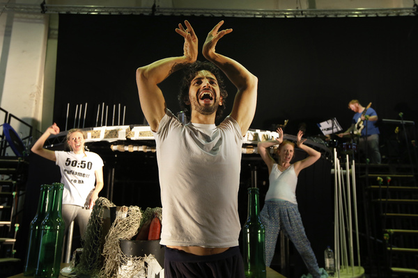 Photo Flash: First Look at FANTASTIC MR. FOX Rehearsals