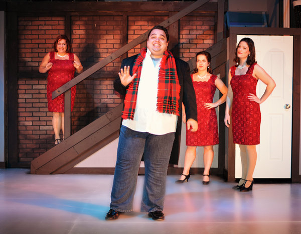 Photo Flash: Sneak Peek at HOME FOR THE HOLIDAYS at The Dio