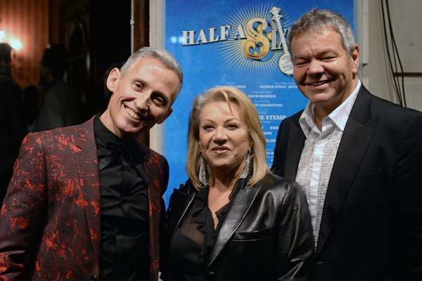 George Stiles, Elaine Paige and Anthony Drewe