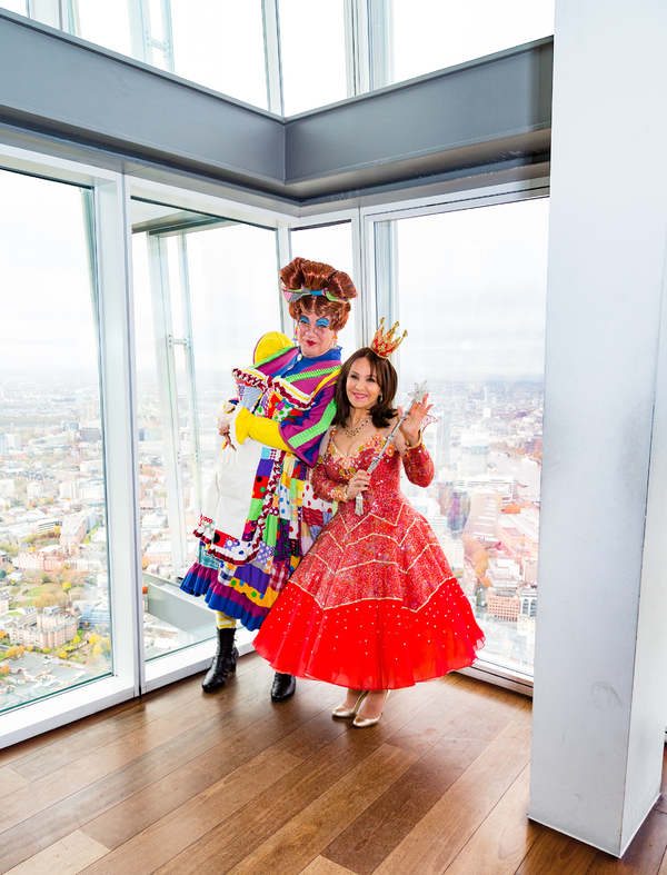 Photo Flash: Cast of DICK WHITTINGTON Pose at A View From the Shard